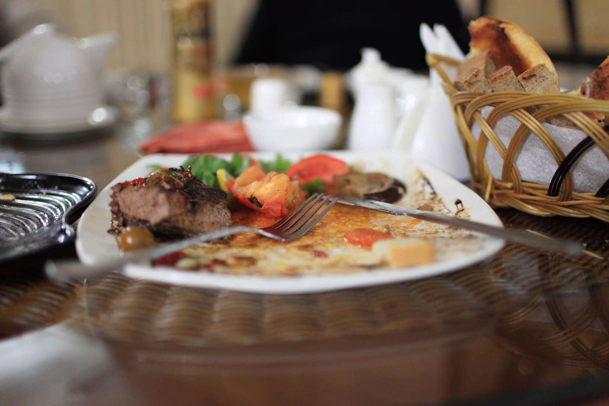 custos de um restaurante