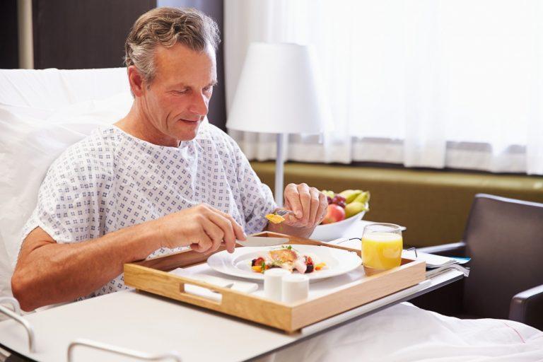 Alimentação hospitalar